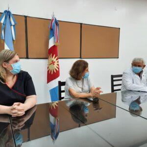 Autoridades evaluaron la marcha de la primera etapa de vacunación contra Covid-19