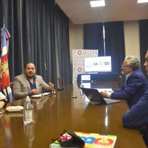 El CEO de Emirates Focus Group tuvo una serie de reuniones con productores de la provincia