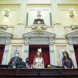 Claudia Ledesma Abdala de Zamora fue ratificada como Presidenta Provisional del Senado