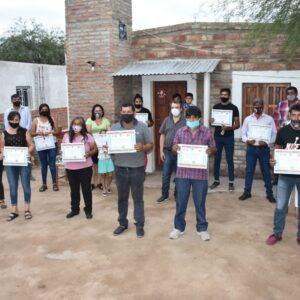 Entregan 30 viviendas sociales en Las Delicias
