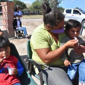 """Lanzan el programa """"Mis Primeros 1700 días"""" en Sabagasta, departamento Salavina"""