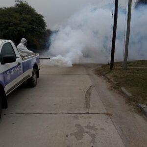 La Municipalidad informó cronograma de fumigación y sanitización