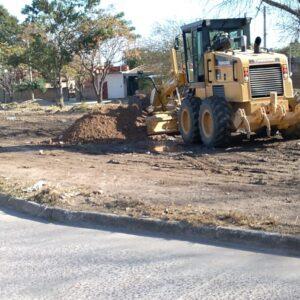 La Municipalidad trabaja en la recuperación de un predio para destinarlo a espacio recreativo